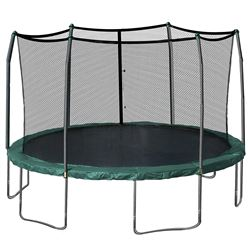 SKYWALKER 15' TRAMPOLINE WITH ENCLOSURE