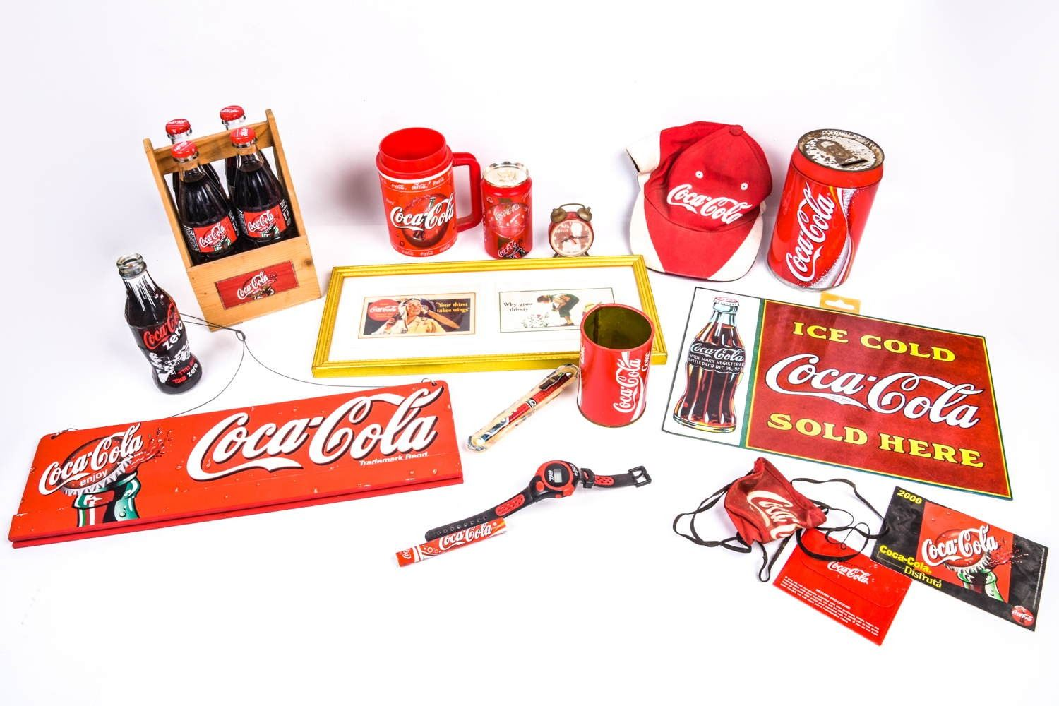 Coca Cola Gifts >> A Collection Of Various Coca Cola Items