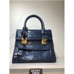 VALENTINO Aligator Blue Handbag