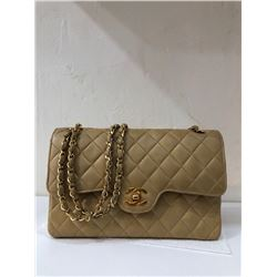 Chanel Vintage Tan Handbag