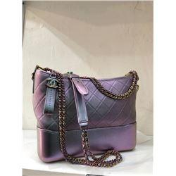 Chanel Gabriela  Purple Handbag
