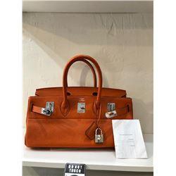 Hermès JPG BIRKIN 42 Orange Handbag