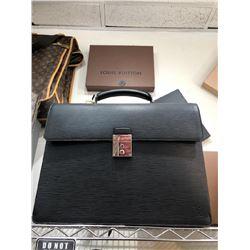 Louis Vuitton EPI Black Briefcase Brand New Condition