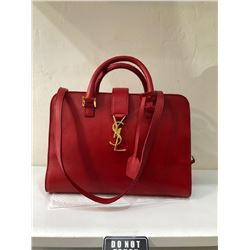 YSL Red Leather 2018 Handbag