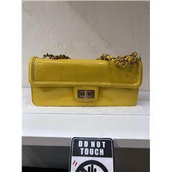 Chanel Yellow Patent LeatherHandbag