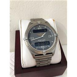 Breitling Navimeter Stainless Steel Watch