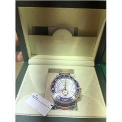 Rolex Yachtmaster II Box/Papers Two Tone