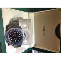 Men Rolex Watch w. Ceramic Bezel