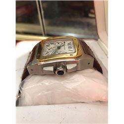 Cartier Chronograph Two Tone