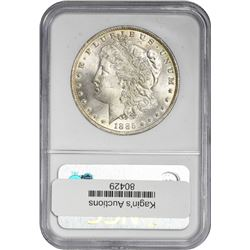 1885-O Morgan 1$. MS-64* NGC.