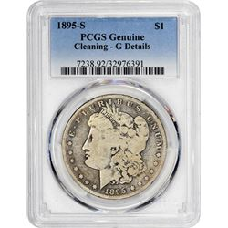 1895-S Morgan 1$. Good-Details PCGS.