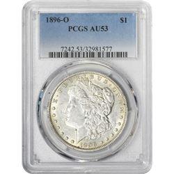 1896-O Morgan 1$. AU-53 PCGS.