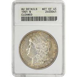 1901 Morgan 1$. AU-Details ANACS.
