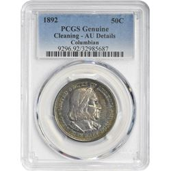 1892 Columbian 50¢ Commemorative. AU-Details PCGS.