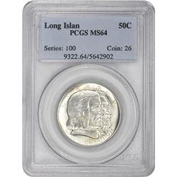 1936 Long Island 50¢ Commemorative. MS-64 PCGS.