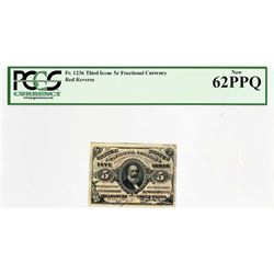 Lot of (2) Fr. 1236 & 1238. Third Issue. PCGS Currency New 62 PPQ & Choice New 63 PPQ.