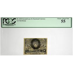 Lot of (7) Fractional Currency. Second Issue. PCGS Currency Graded.
