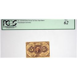 Lot of (8) Fractional Currency Specimen Notes. PCGS Currency Graded.