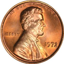1972 Lincoln 1¢. Doubled Die Obverse. MS-65 RD NGC.
