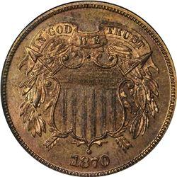 1870 2¢. Proof-64 RD NGC.