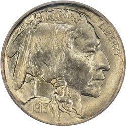 1913 Buffalo 5¢. Type II. MS-66 PCGS.
