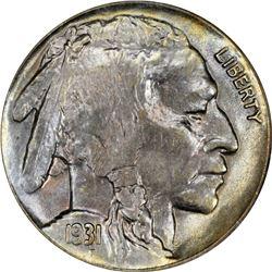 1931-S Buffalo 5¢. MS-65 NGC.