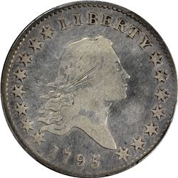 1795 Flowing Hair 50¢. O-117. Rarity-4. VG-08 PCGS.