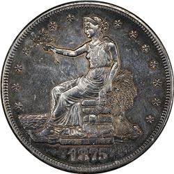 1875-CC Trade $1. Type I/I. MS-64 PCI.