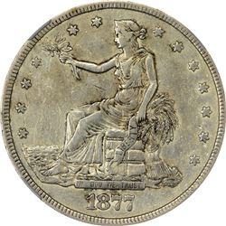 1877-S Trade $1. EF-40 NGC.
