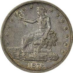 EF 1878-CC Trade $1. 1878-CC Trade $1. EF-40 PCGS.