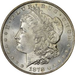 1878-CC Morgan $1. MS-65 NGC.
