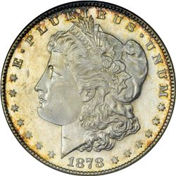 1878-S Morgan $1. MS-64 DMPL ANACS.