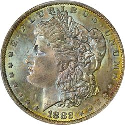 Toned Gem 1882-O Morgan $1. 1882-O Morgan $1. MS-66 PCGS.