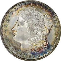 1888-S Morgan $1. MS-65 PCGS.