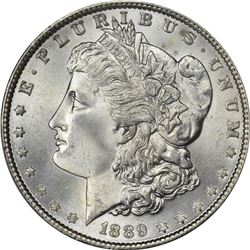 1889 Morgan $1. MS-66+ PCGS.