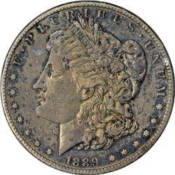 1889-CC Morgan $1. EF-40 ANACS.