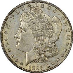 1895-S Morgan $1. AU-55 PCGS.