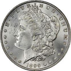 1899 Morgan $1. MS-64+ PCGS.