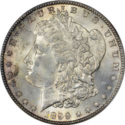 1899-S Morgan $1. MS-63 PCGS.