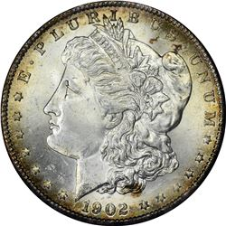 1902-S Morgan $1. MS-65 Redfield Hoard Holder.