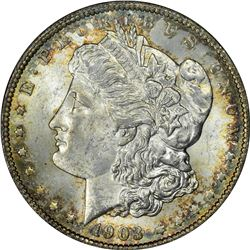 1903-O Morgan $1. MS-65 Redfield Hoard Holder.