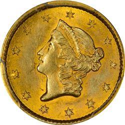 1853 Gold $1. MS-622 PCGS.