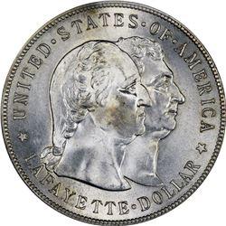1900 Lafayette $1. MS-63 PCGS.