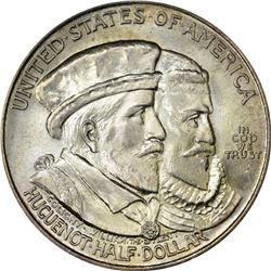 1924 Huguenot 50¢. MS-66 PCGS. OGL.