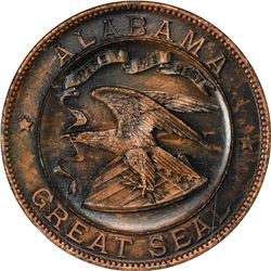 Gem 1915 Pan-Pac Alabama So-Called Dollar HK-402. California. San Francisco. 1915 Panama-Pacific Int
