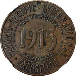 California. San Francisco. 1915 Panama-Pacific International Exposition SC$1. Baroque Shield, Nebras