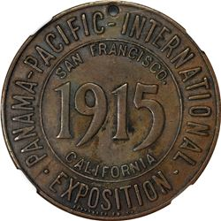California. San Francisco. 1915 Panama-Pacific International Exposition SC$1. Baroque Shield, Nebras