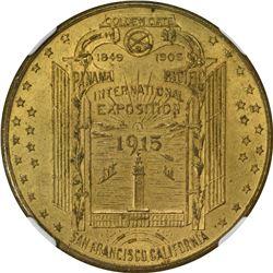 California. San Francisco. 1915 Panama-Pacific International Exposition SC$1. U.S. Exhibitions. HK-4