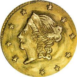 1868 Round 50¢. BG-1008. Liberty Head. Rarity-5. MS-65 PCGS.