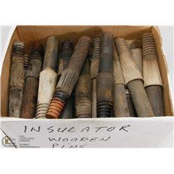 BOX OF INSULATOR PIN MOUNTS